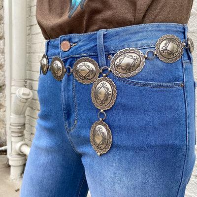Punchy's The Dakota Concho Belt