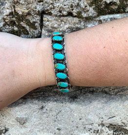 Punchy's Vintage Turquoise Stacker Cuff