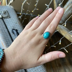 Punchy's Vintage Turquoise Rings
