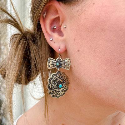 Punchy's Santa Fe Hook Earring