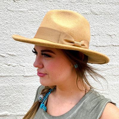 Punchy's Beige Fedora Hat