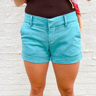 Punchy's Dear John Hampton Shorts Turquoise