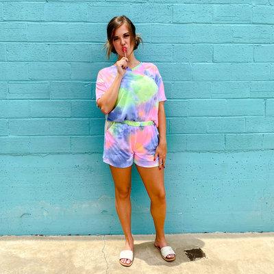 Punchy's Tie Dye Loungewear
