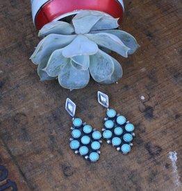 Punchy's Carico Lake Diamond Post Earring