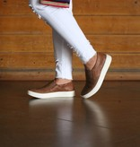Punchy's Women's Slip On Leather Sneakers
