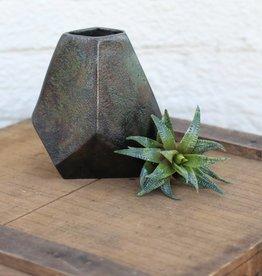 Punchy's Aristide Cast Geometric Vase