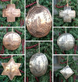 Punchy's Metal Stamped Ornaments