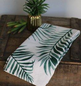 Punchy's Palm Print Cotton Kitchen Towel