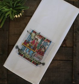 Punchy's Cowboy Motel Cup Towel