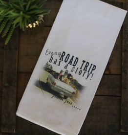 Punchy's Road Trip Cup Towel