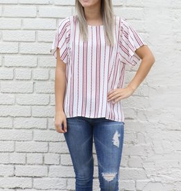 Punchy's Boxy Printed Blouse
