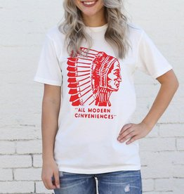 Punchy's White Chief Modern Conveniences Graphic Tee