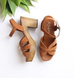 Punchy's Suede Platform Sandal