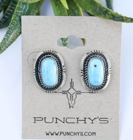 Punchy's Carico Lake Oval Rope Stud