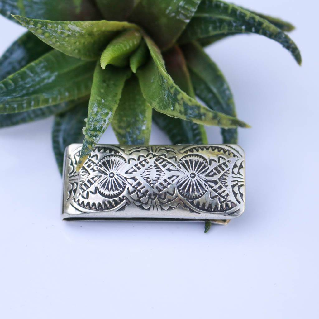 Punchy's Stamped Money Clip