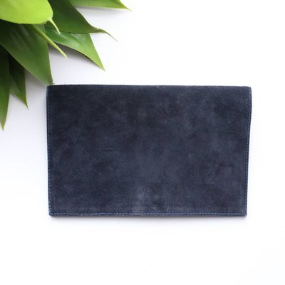 Punchy's Suede Foldover Clutch