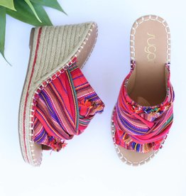 Punchy's Espadrille Wedge Sandal