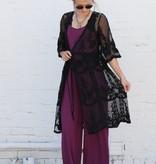 Black Lace Duster