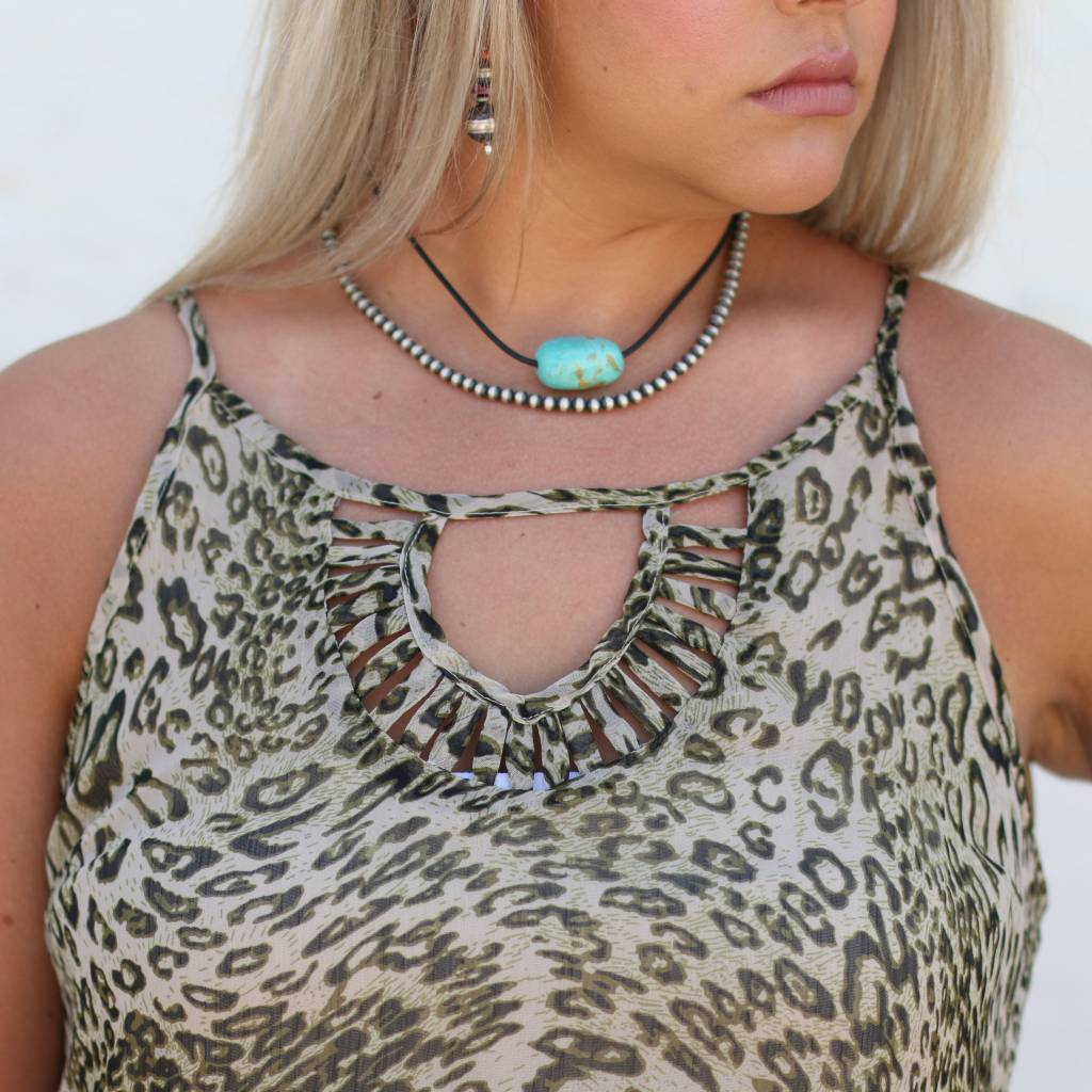 Punchy's Leopard Print Cami Top