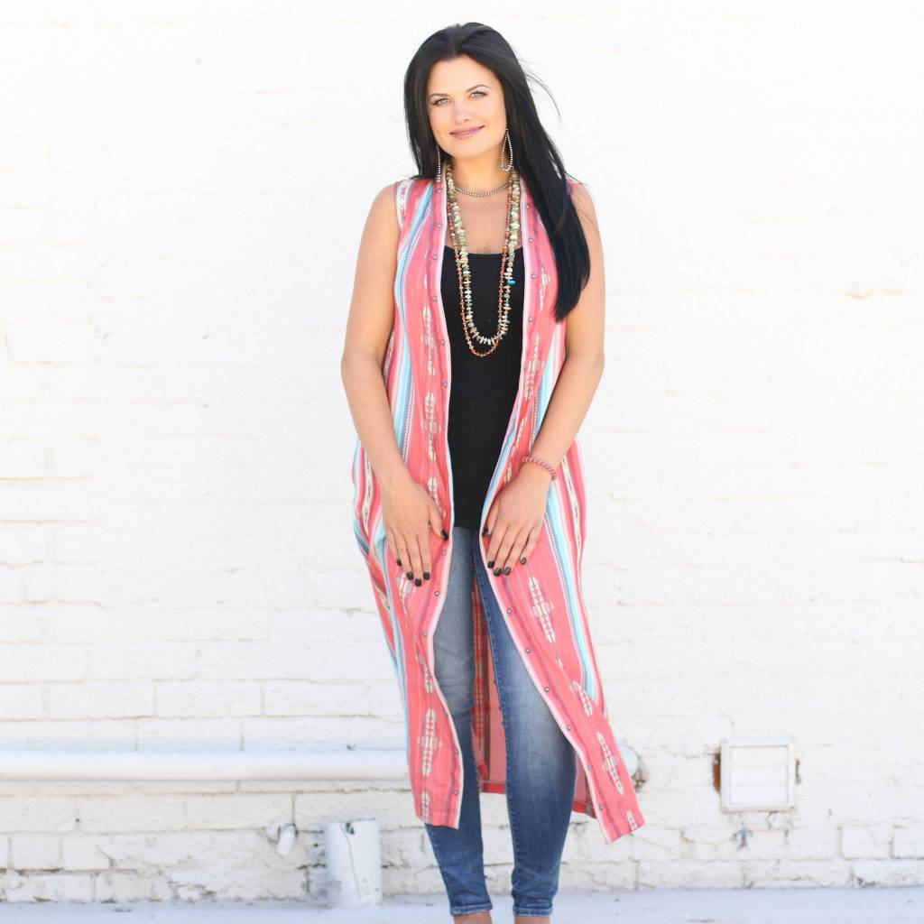 Punchy's Indian Summer Sleeveless Duster