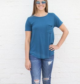 Punchy's Scoop Neck Pocket Tee
