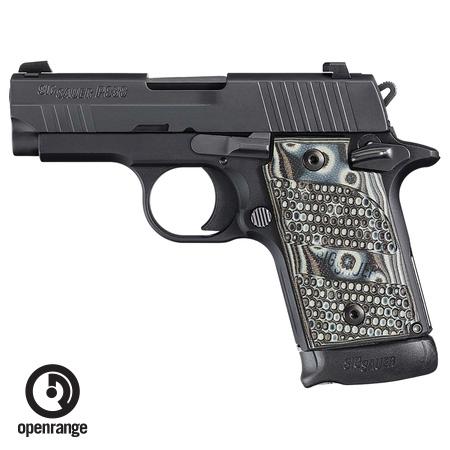Rotational Sig Sauer P938 Extreme, 9mm, 7 rd, Night Sights, G10 Piranha Grips
