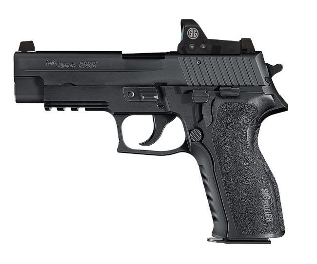 Sig Sauer P226R w/ Romeo Optic, 9mm, 15 rd. night sights