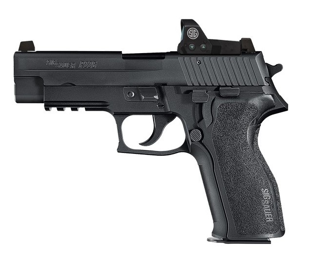 Rotational Sig Sauer P226R w/ Romeo Optic, 9mm, 15 rd. night sights