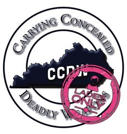 CCDW 12/29/18 Sat - Ladies CCDW class - 9:30 to 4:30