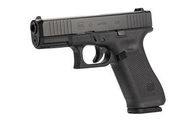 Handgun New Glock 45 gen 5, 9mm, Front Serrations, nDLC, 3 x 17rd