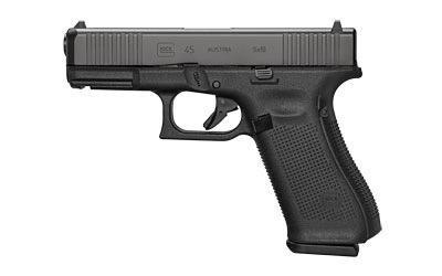 Glock 45 gen 5, 9mm, Front Serrations, nDLC, 3 x 17rd