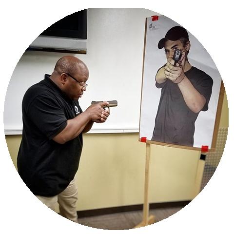 09/21/19 Sat - Self Defense Pistol Level 1 - 9:30 to 1:30