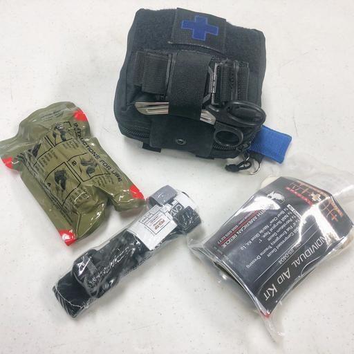 Basic 09/17/19 TUE - Gunshot Trauma - 6pm to 7:30pm (includes Tourniquet & Trauma kit)