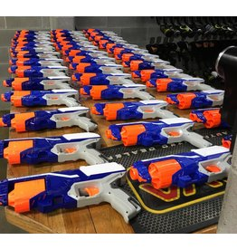 Reball Private Nerf Party, Minimum 10 players, includes blaster, eye protection, 2 hours