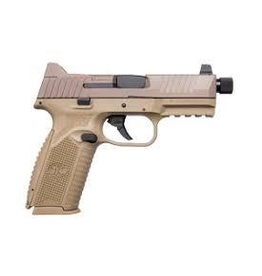 Rotational FN 509 Tactical, 9mm, nights sights, FDE
