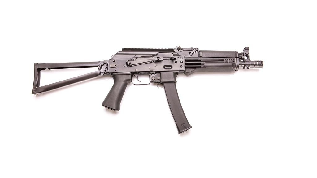 Kalashnikov USA KR-9 SBR, 9mm, 30rd, side folding, All NFA Rules Appliy