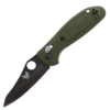 Benchmade 555HG Mini-Griptilian, Black Sheepsfoot Blade, Olive Handle (Discontinued)