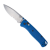 Benchmade 535 Bugout, Serrated Satin Drop Point Blade