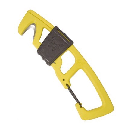 Benchmade 9CB Safety Hook w/ Carabiner, Yellow