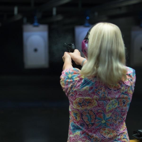 Ladies Night - Shoot A Pistol Package for 2