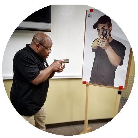 8/01 - Self Defense Pistol Level 1 - Sat - 1pm to 5pm