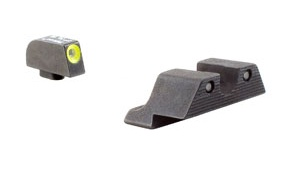 Optics Trijicon SIG HD™ Night Sight Set - Yellow Front Outline