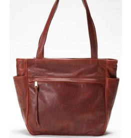 Pack and Etc (Purse) Coronado Monterey Tote, Mahogany Purse