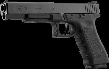 Glock 24, .40S&W, Adj. Sights, 15 rd, 2 mags
