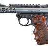 "Ruger MKIV 22/45 Lite Target, 4.4"", Acorn Grips, Diamond Gray"