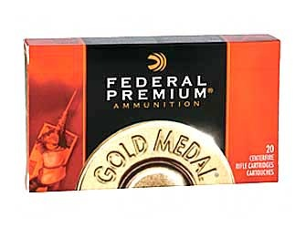 Ammo, Federal Gold Medal, .223,  69 gr, 20 round