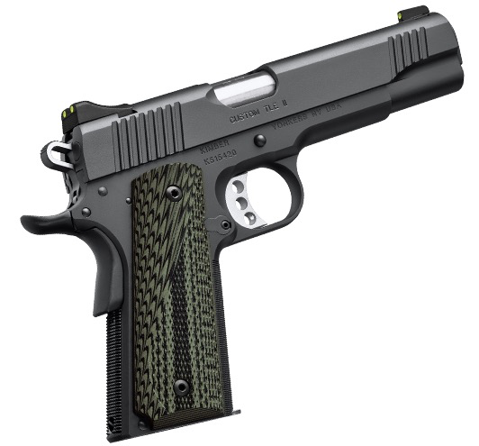 "Kimber Custom TLE II .45ACP, 5"", Black Pistol, Night Sights, 7rd Magazine"