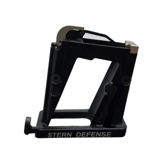 Stern Defense 9mm mag well adapter for AR-15s, takes Glock mags