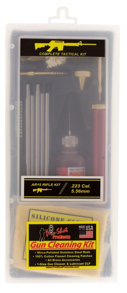 Pro-Shot UNIVERSAL .22 THRU 12 GA Box Cleaning Kit - Openrange Logo Cobrand