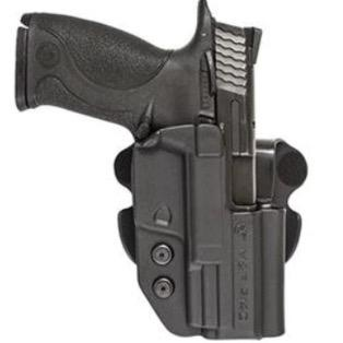 Comp-Tac HK OWB Kydex Modular Mount HK VP9 Lever (European style mag release) Conceal Carry OWB Paddle Holster, Open Bottom - Right Handed